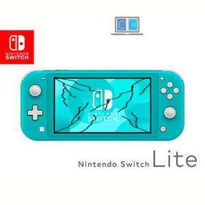cambiar cristal tactil nintendo switch lite