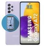 cambiar pantalla galaxy a72 precio